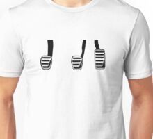 Manual Transmission Pedals Unisex T-Shirt