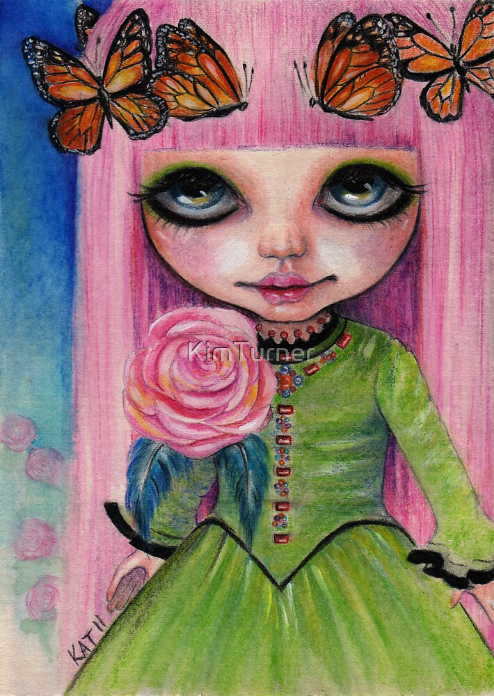 Pink haired Rose by KimTurner