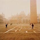 Piazza San Marco Venice by Ronald Rockman