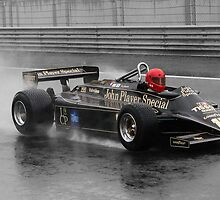 Lotus 87 in the wet by jonbunston