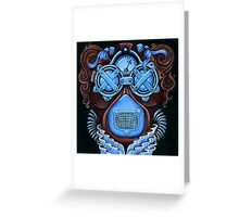 Steampunk Masquerade #1 Greeting Card