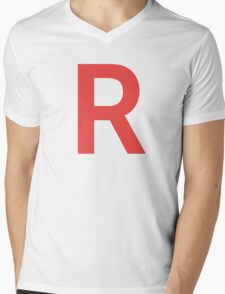 Team Rocket Mens V-Neck T-Shirt