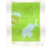 USGS Topo Map Oregon Crane Prairie Reservoir 279498 1963 24000 Poster