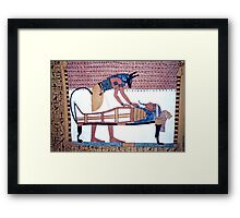 Tombs of the Nobles, Egypt  Framed Print