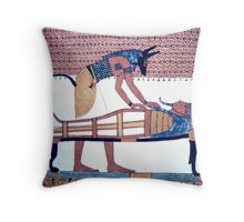 Tombs of the Nobles, Egypt  Throw Pillow