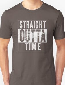 Straight Outta Time Back to the Future  T-Shirt