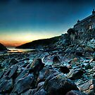 Port Quin Sunset by Simon Marsden