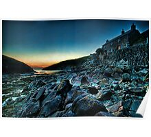 Port Quin Sunset Poster