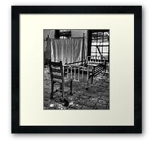We Dont Belong Here Anymore....Norwich State Hospital June 2011 Framed Print