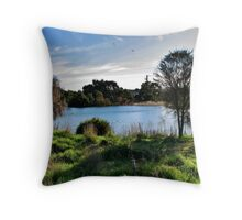Old Noarlunga Wetlands Throw Pillow