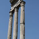 Pillars In The Forum by Samantha Higgs