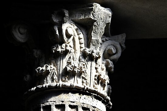 Corinthian Pillar Capital by Samantha Higgs