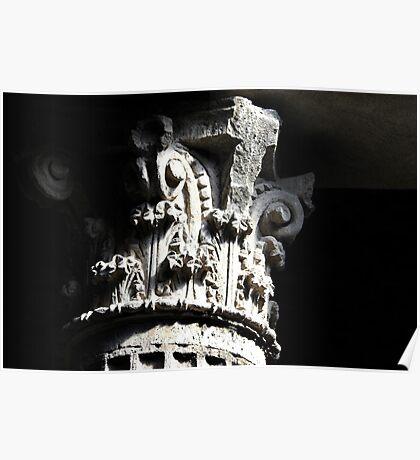 Corinthian Pillar Capital Poster