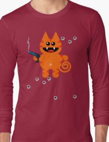 KAT 5 (Armed and highly dangerous!) Long Sleeve T-Shirt
