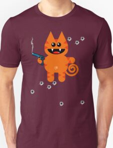 KAT 5 (Armed and highly dangerous!) T-Shirt