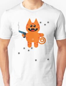KAT 5 (Armed and highly dangerous!) Unisex T-Shirt