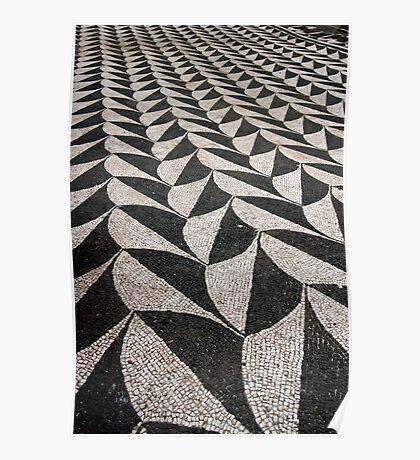 Mosaic Floor Poster
