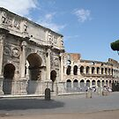 Arch of Constantine by Samantha Higgs