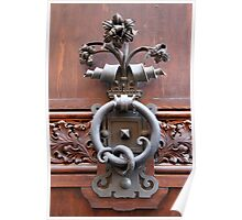Ornate Handle Poster