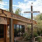 Mungerannie Hotel by wilderness