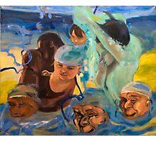 Swimming lesson 4 Photographic Print