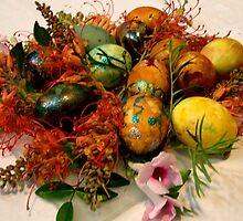 0004  Easter Eggs by Pitt Street  Uniting Church, Sydney