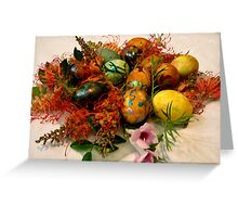 0004  Easter Eggs Greeting Card