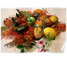 0004  Easter Eggs Poster