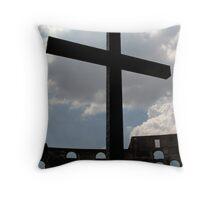 Colosseum Cross Throw Pillow