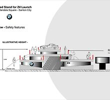 Proposed Stand for launch of BMW-Z4 South Africa by Joy45