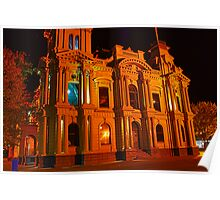 Bendigo Town Hall HDR Poster
