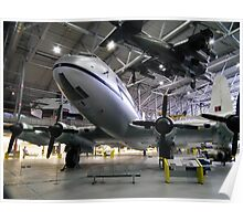 Harrier over Hastings Poster
