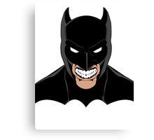 Batman Grey Canvas Print