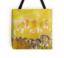 Childhood series - children singing - Kid's choir Tote Bag