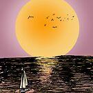 Sailing To Freedom by PieterDC