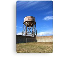 The Exercise Yard Canvas Print