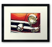 The Lure of Paint and Chrome Framed Print