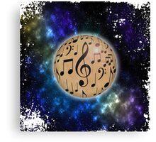 Planet Music Canvas Print