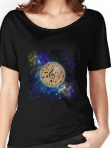 Planet Music Women's Relaxed Fit T-Shirt