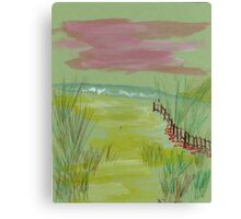 Gentle breeze Canvas Print