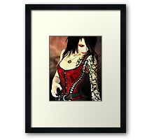 Cherry Crush - Digital Portrait Framed Print
