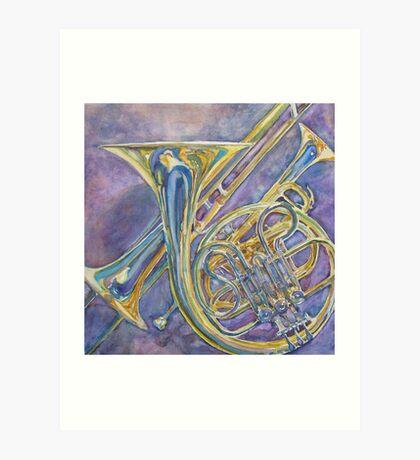 Three Horns Art Print
