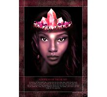 Goddess of the Heart Photographic Print