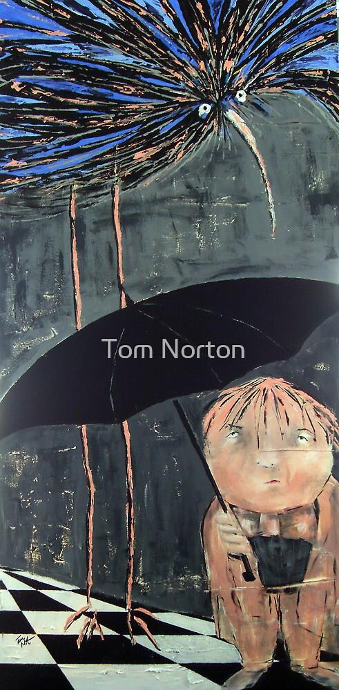 pinky goes to birdland by Tom Norton