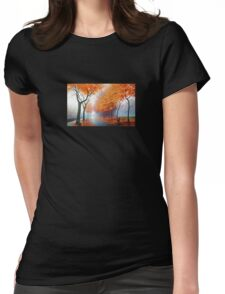 Landscape Photo Womens Fitted T-Shirt