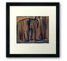 The Watering Place Framed Print