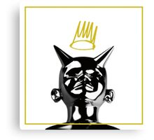 J. Cole Born Sinner Album Art TRANSPARENT Canvas Print