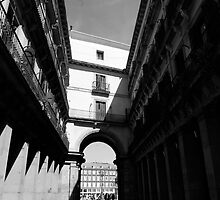 Plaza Mayor Entrance by fefelix18