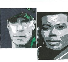 Stargate SG-1 O' Neill and Teal'c by chrisjh2210