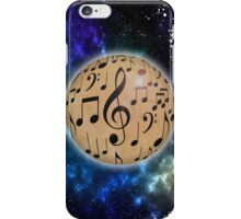 Planet Music iPhone Case/Skin